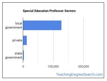 Special Education Professor Sectors