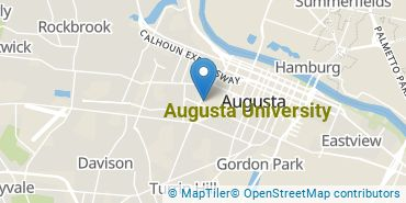 Location of Augusta University