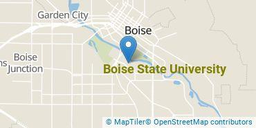 Location of Boise State University