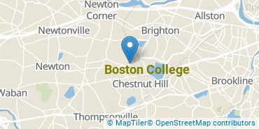 Location of Boston College