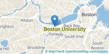 Location of Boston University