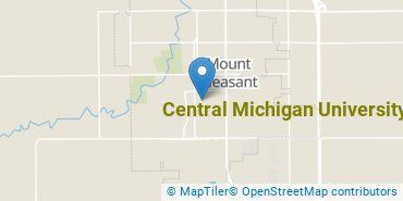 Location of Central Michigan University