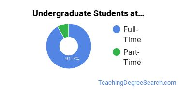 Full-Time vs. Part-Time Undergraduate Students at  Concordia University, Irvine