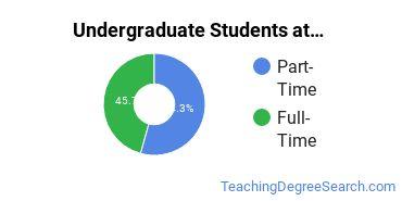 Full-Time vs. Part-Time Undergraduate Students at  FHSU
