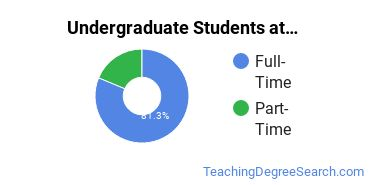 Full-Time vs. Part-Time Undergraduate Students at  GMU