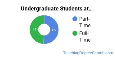 Full-Time vs. Part-Time Undergraduate Students at  Mayville State University