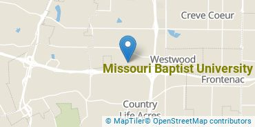 Location of Missouri Baptist University