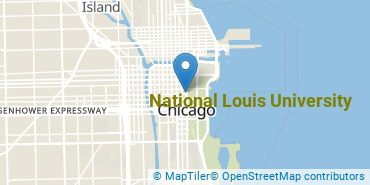 Location of National Louis University