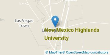 Location of New Mexico Highlands University