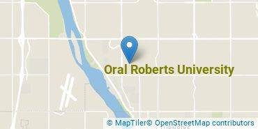 Location of Oral Roberts University