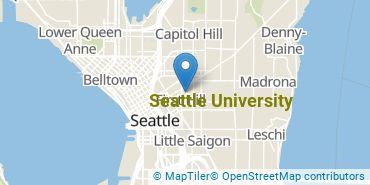 Location of Seattle University
