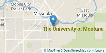 Location of The University of Montana