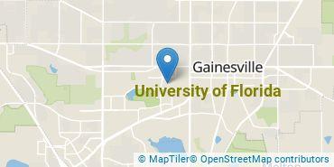 Location of University of Florida