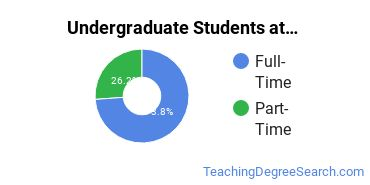 Full-Time vs. Part-Time Undergraduate Students at  UMary