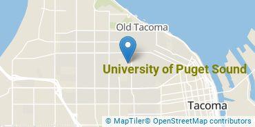 Location of University of Puget Sound