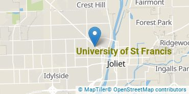 Location of University of St Francis