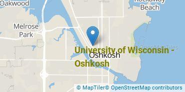 Location of University of Wisconsin - Oshkosh