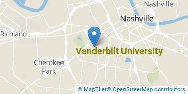 Location of Vanderbilt University
