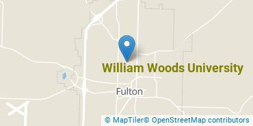 Location of William Woods University
