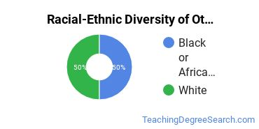 Racial-Ethnic Diversity of Other Educational Administration Students with Bachelor's Degrees