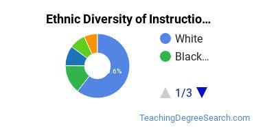 Instructional Media Design Majors in FL Ethnic Diversity Statistics