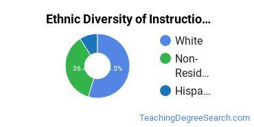 Instructional Media Design Majors in IA Ethnic Diversity Statistics