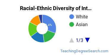 Racial-Ethnic Diversity of International and Comparative Education Students with Bachelor's Degrees