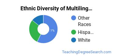 Multilingual Education Majors in WA Ethnic Diversity Statistics