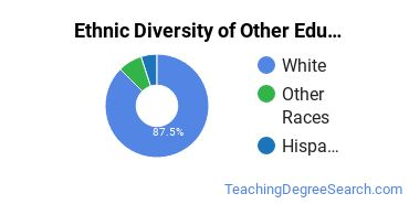Other Education Majors in WI Ethnic Diversity Statistics