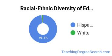 Racial-Ethnic Diversity of Education/Teaching of Individuals with Orthopedic and Other Physical Health Impairments Students with Bachelor's Degrees