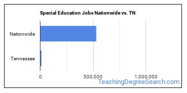 Special Education Jobs Nationwide vs. TN