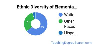 Elementary Education Majors in AK Ethnic Diversity Statistics