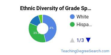 Teacher Education Grade Specific Majors in NV Ethnic Diversity Statistics