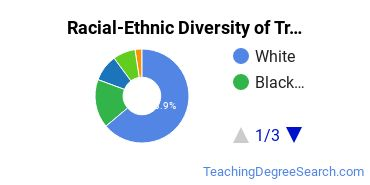 Racial-Ethnic Diversity of Trade and Industrial Teacher Education Students with Bachelor's Degrees