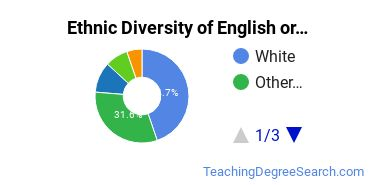 Teaching English or French Majors in NJ Ethnic Diversity Statistics
